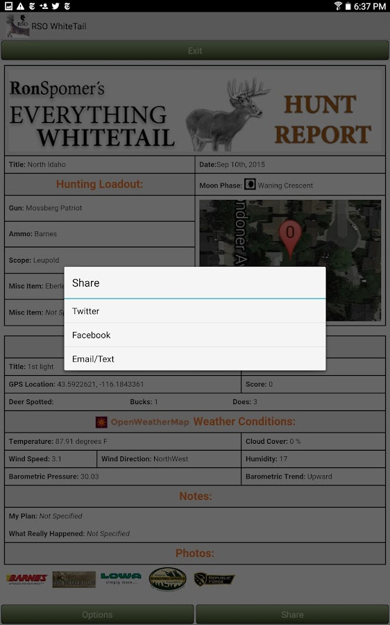 Everything Whitetail- screenshot