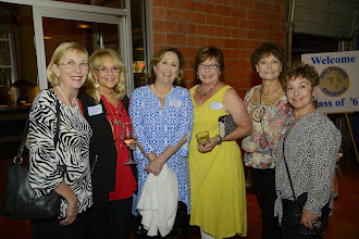 Photo: Pam (Hearn) Braunig, Dotty (Baltzell) Essex, Susan (Hinson) Tobin, Betty (Hodgkins) Donohoe, Nancy (Friday) Pettus, Sunni (Wilson) Bender