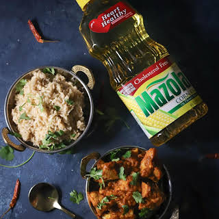 Vegan Cauliflower Tikka Masala.