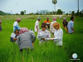 Photo: Enthusiastic Smart farmers- CFPAR for Kampong Speu province farmers , Lvea Village, Ang Popel commune, Korng Pisey district, Kampong speu province (10-12 Sep 2014)