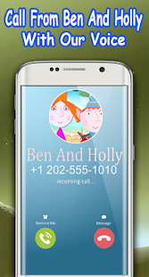 Call Ben And Princess Holly - Real Life Voice - náhled