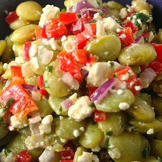 Greek Lima Been Salad