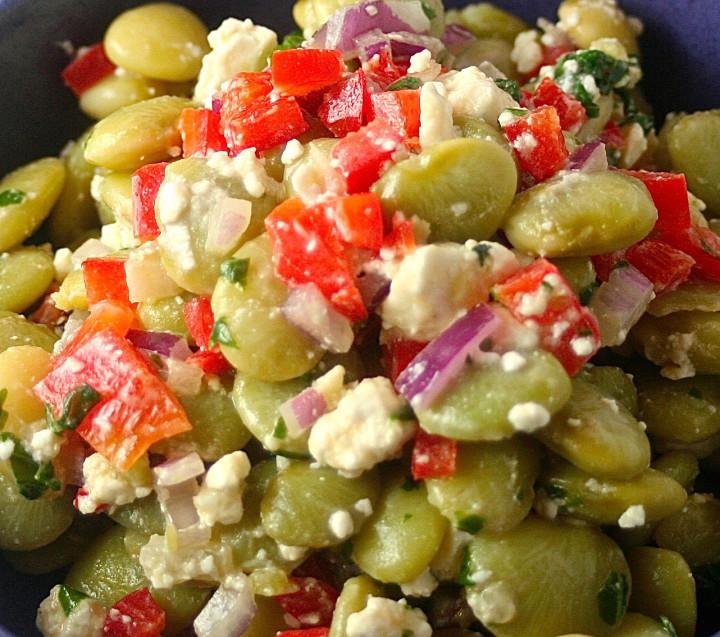 Greek Lima Been Salad Recipe