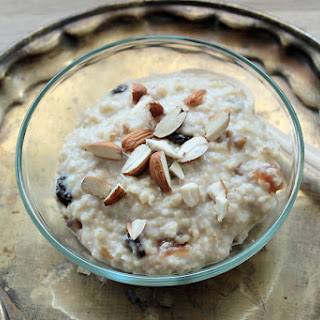 Medjool Dates Porridge.