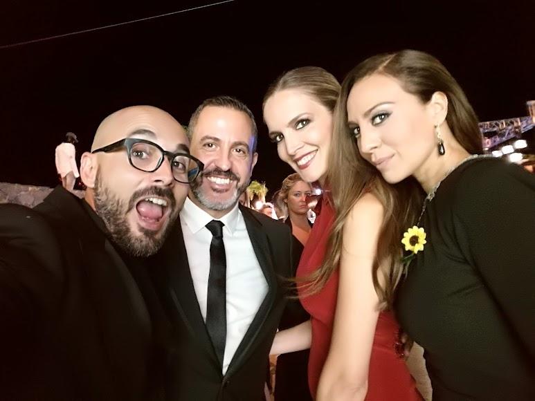 Sergio Morante, Óscar Tarruella, Noelia Margoton y Mónica Naranjo.