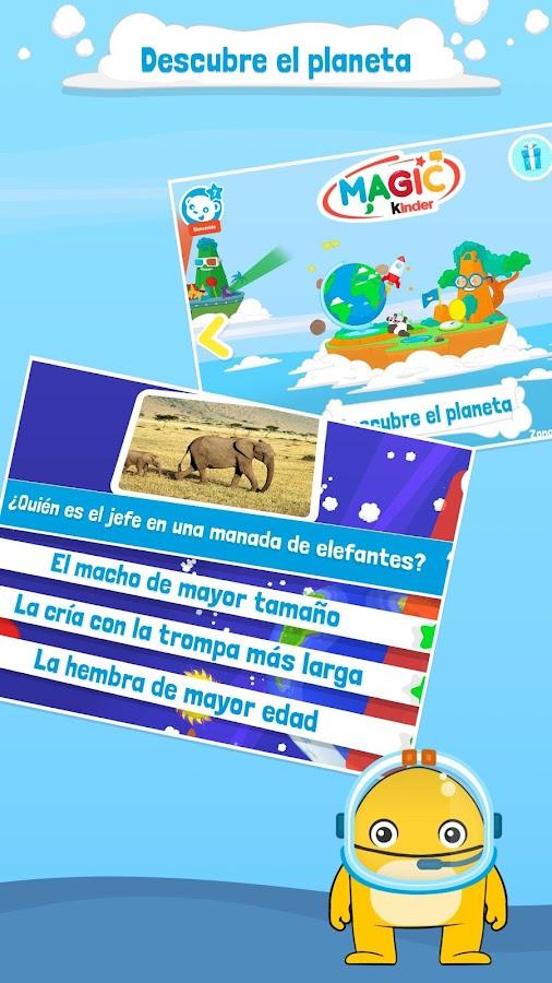 Magic kinder app oficial juegos gratis aplicaciones android en google play - Kinderapps gratis ...