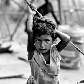 Unprivileged by Amit Naskar - Babies & Children Child Portraits