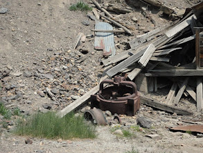 Photo: Industrial archaeology focuses on material like this - the historic record - manufacturing, mining, etc. each region presents a special record of human activity.http://www.adoptamine.org/aboutaml/other-reasons/243/archaeology-of-mining-waste/