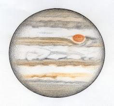 Photo: Jupiter le 30 octobre 2015, environ 4 mois avant la date d'opposition de la planète. T406 à 350X depuis Ste Gemme.