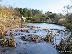 Photo: Pond at MIll of Benholm, nr Inverbervie