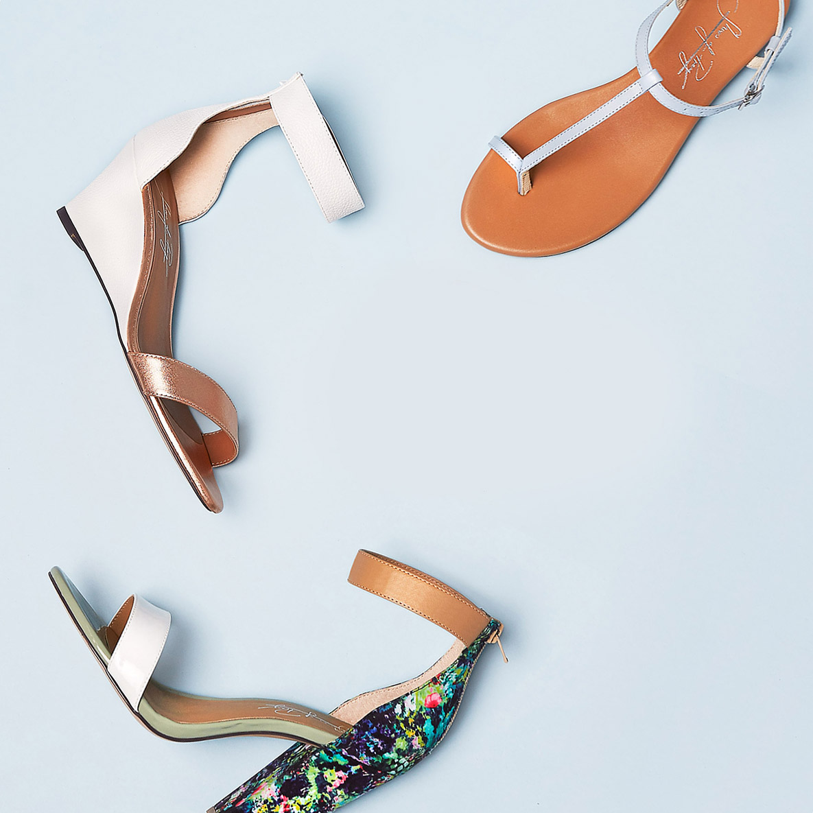 3 sandals to see you through the season