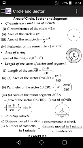 10th Class Math Formula 1.4 screenshots 2