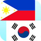 Filipino Korean Translator icon