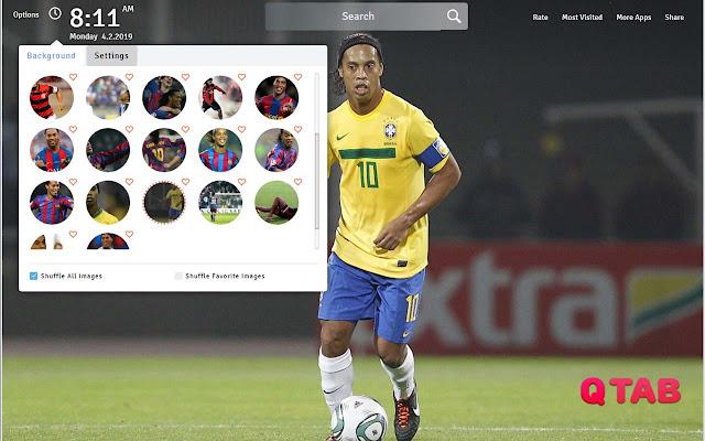 Ronaldinho Wallpapers Hd Ronaldinho New Tab