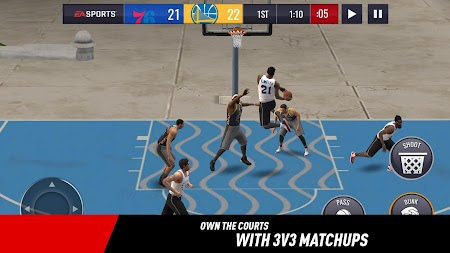 NBA LIVE Mobile Basketball APK screenshot thumbnail 1