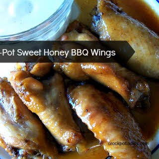 Crock-Pot Sweet Honey BBQ Chicken Wings.