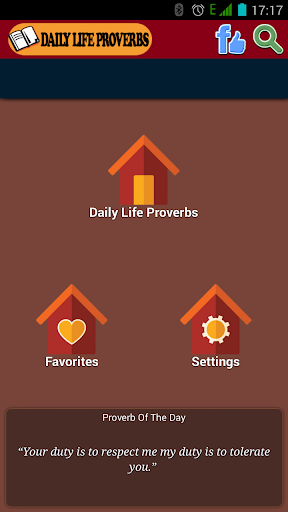 Daily Life Proverbs