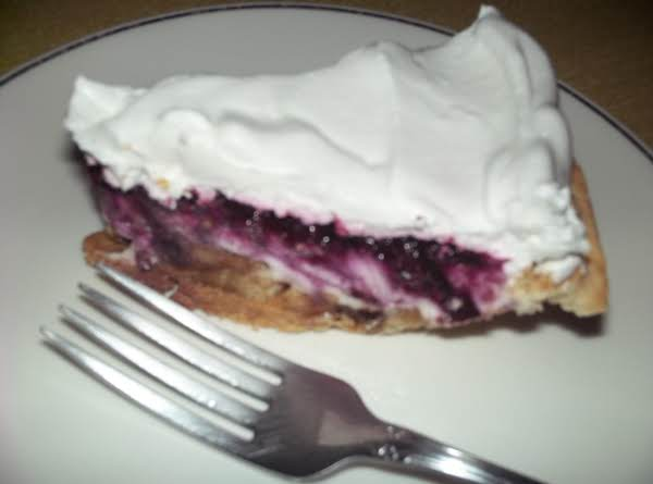 Banana-blueberry Pie