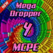 Mega Dropper 4 map for MCPE