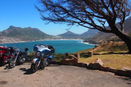 cape town à moto