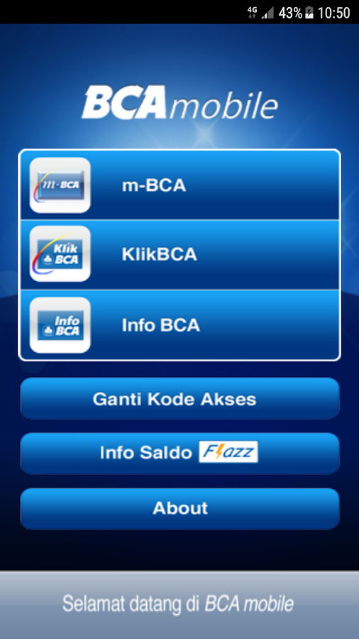 BCA mobile- screenshot