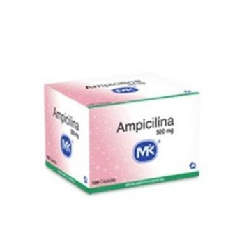 Ampicilina Mk 500Mg Cápsulas