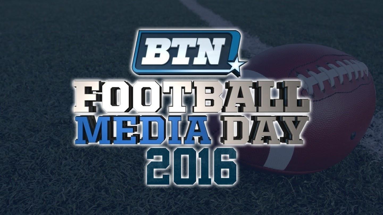 B1G Football Media Day 2016