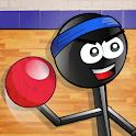 Stickman 1-on-1 Dodgeball icon