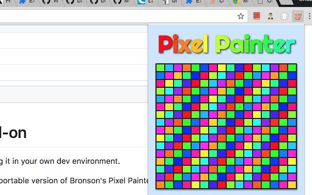 Bronson's Pixel Painter Chrome Add On