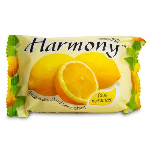 jabon en barra harmony lion amarillo 75gr