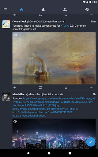 Tusky for Mastodon screenshot 12