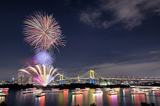 Photo: Happy New Year!  Still a little early (about 4.5hrs left to go here in Tokyo), but since I'll be away from a computer, I'd like to wish everyone a happy new year now :)  I've been away from G+ for a bit again, too much other stuff to work on, but I've enjoyed all the images I've seen here over the year, and am grateful for all the friendships and interactions I've made.  I wish you all the best for 2014! (and have a safe and enjoyable/restful/happy new year's eve)  See you in 2014! :)  #newyear  #newyearseve  #newyear2014  #Tokyo  #Japan  #Odaiba  #fireworks  #happynewyear