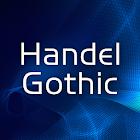 Handel Gothic FlipFont icon