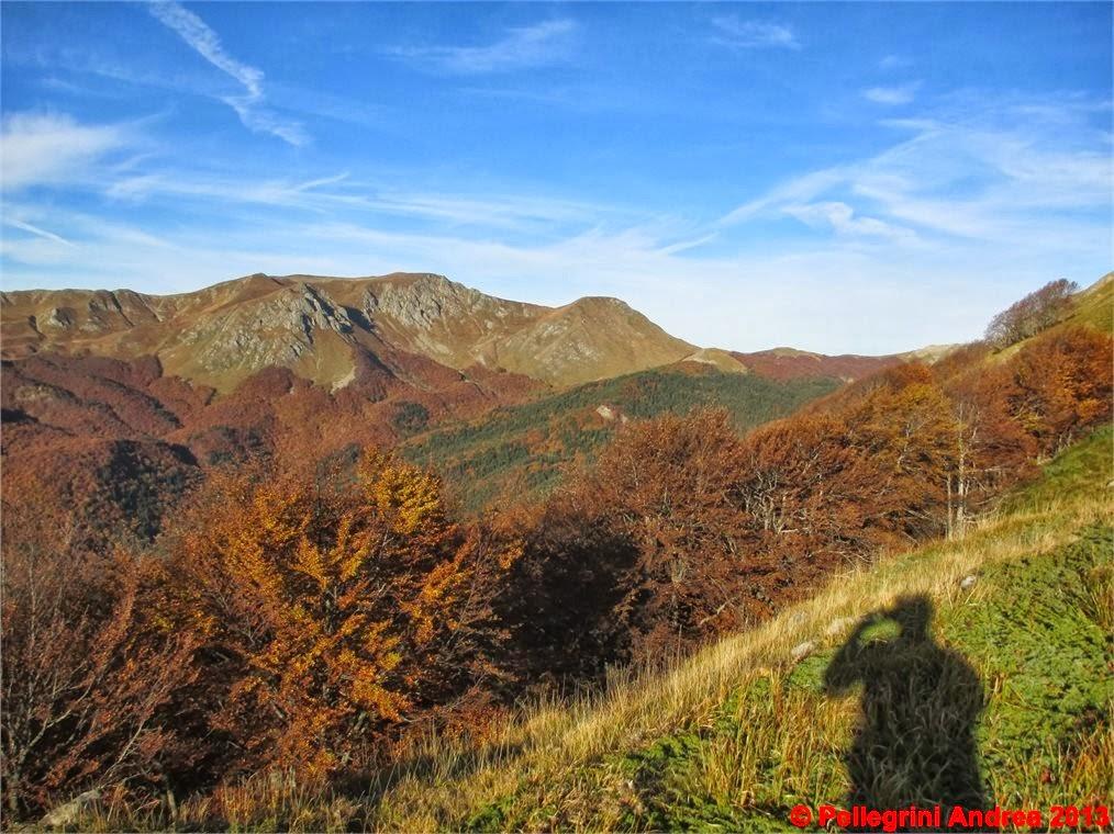 Photo: IMG_3977 i colori dell autunno sull appennino reggiano, Prado e Cipolla, dal 607