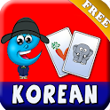 Korean FlashCard Plus For Kids icon