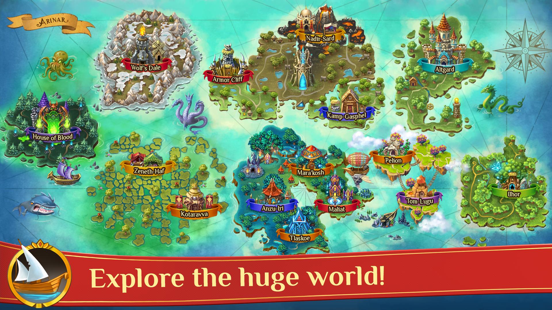 Warspear Online (MMORPG, RPG, MMO) screenshot #4