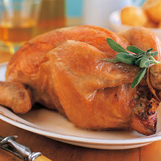 Roasted Chicken with Gravy and Potatoes