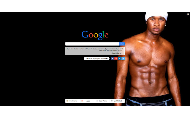 Usher New Tab