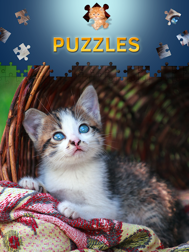Cats Jigsaw Puzzles Free Apk Download 9