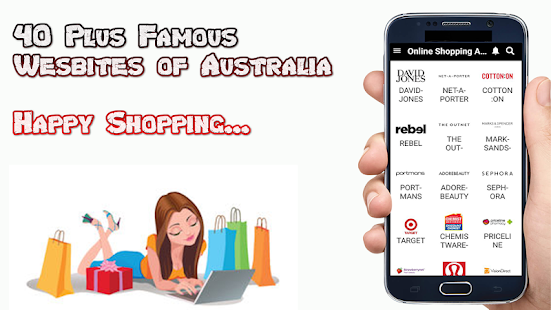 Online Shopping Australia Screenshot