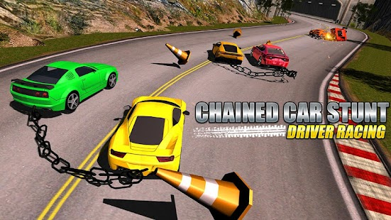 Chained Car Stunts Driver Racing - náhled