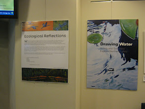 Photo: Ecological Reflections and Drawing Water, http://lter.limnology.wisc.edu/ltearts/exhibition/panel1