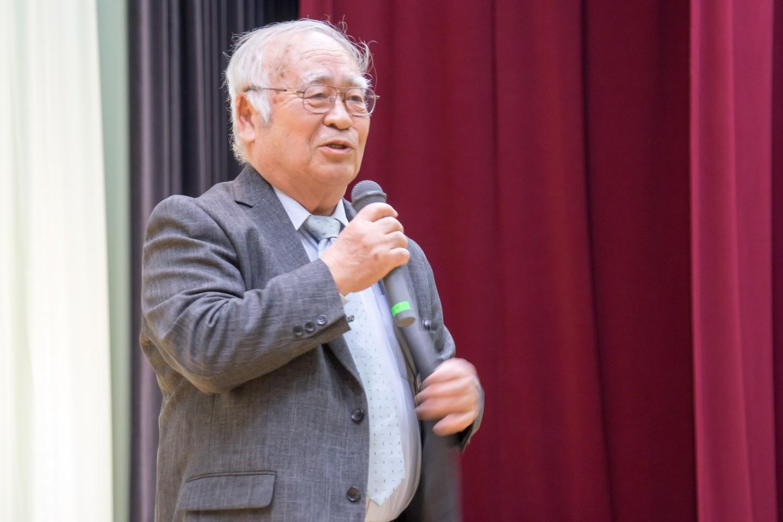 日本農業賞北海道審査会審査会・黒澤不二男 委員長