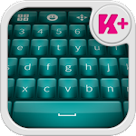 Glow Teal Keyboard Theme 2.0 Apk