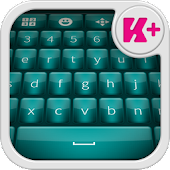 Glow Teal Keyboard Theme