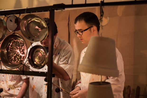 """Atelier participatif et spectacle avec """"Ferraillouz Band"""""""