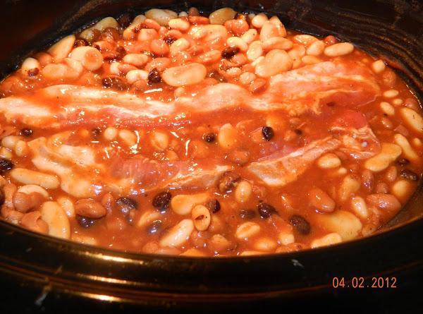 Crockpot Calico Beans-my Version Recipe