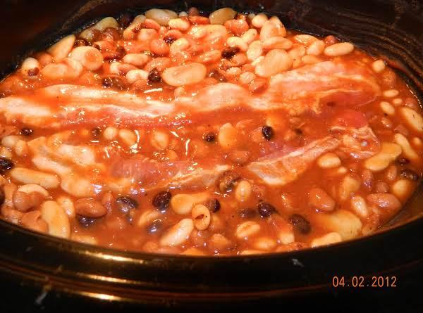 Crockpot Calico Beans-my Version