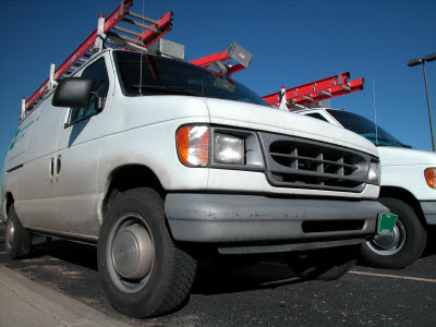 Commercial Vehicle Insurance, Van Fleet Photo - Albuquerque Insurance World