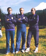 Photo: CSSR 1990. - Vlah Dj, Sarkezi A, Petrovic D.